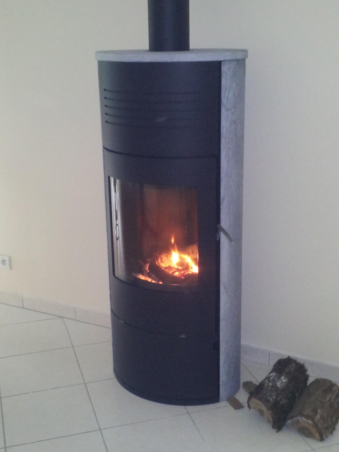 nos installations de poêles à bois